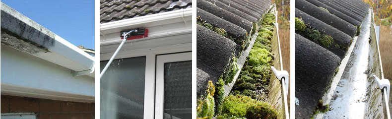 UPVC gutter & fascia cleaning in Sevenoaks